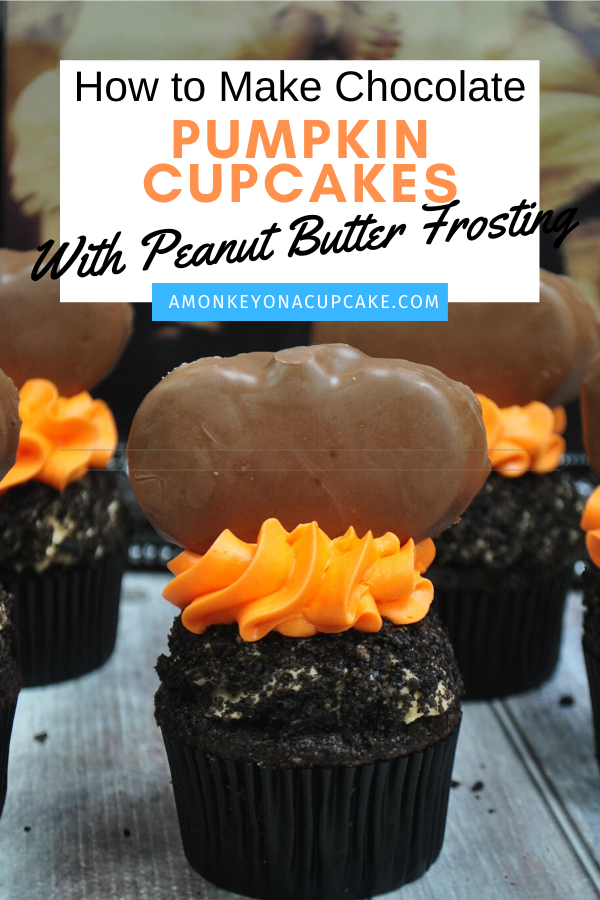 chocolate pumpkin cupcakes article cover image