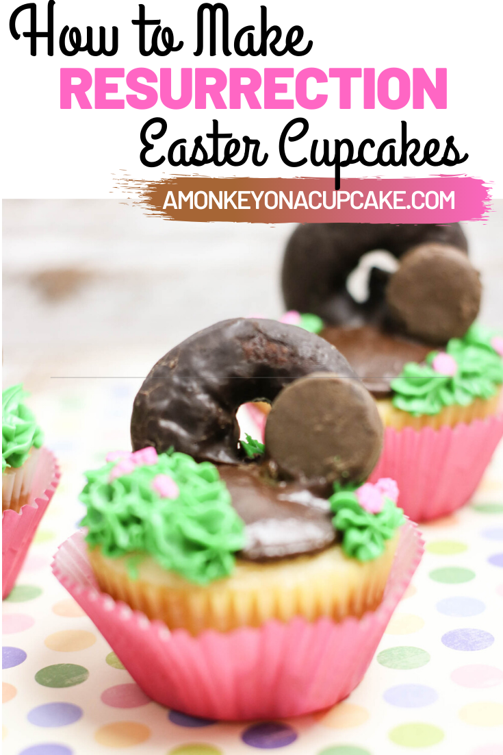Resurrection Cupcakes are Easy Easter Cupcakes