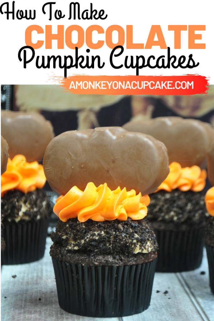 How to make chocolate pumpkin cupcakes article cover image