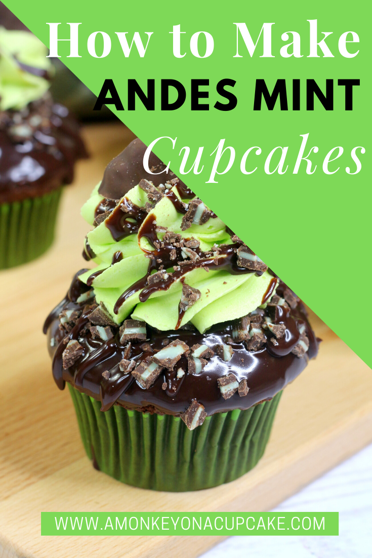 Andes Mint Cupcakes Are Refreshing