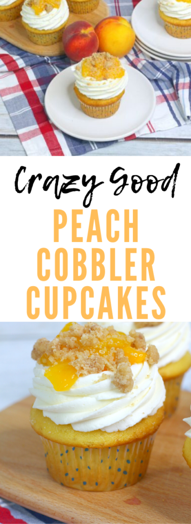 peach cobbler cupcakes article cover image