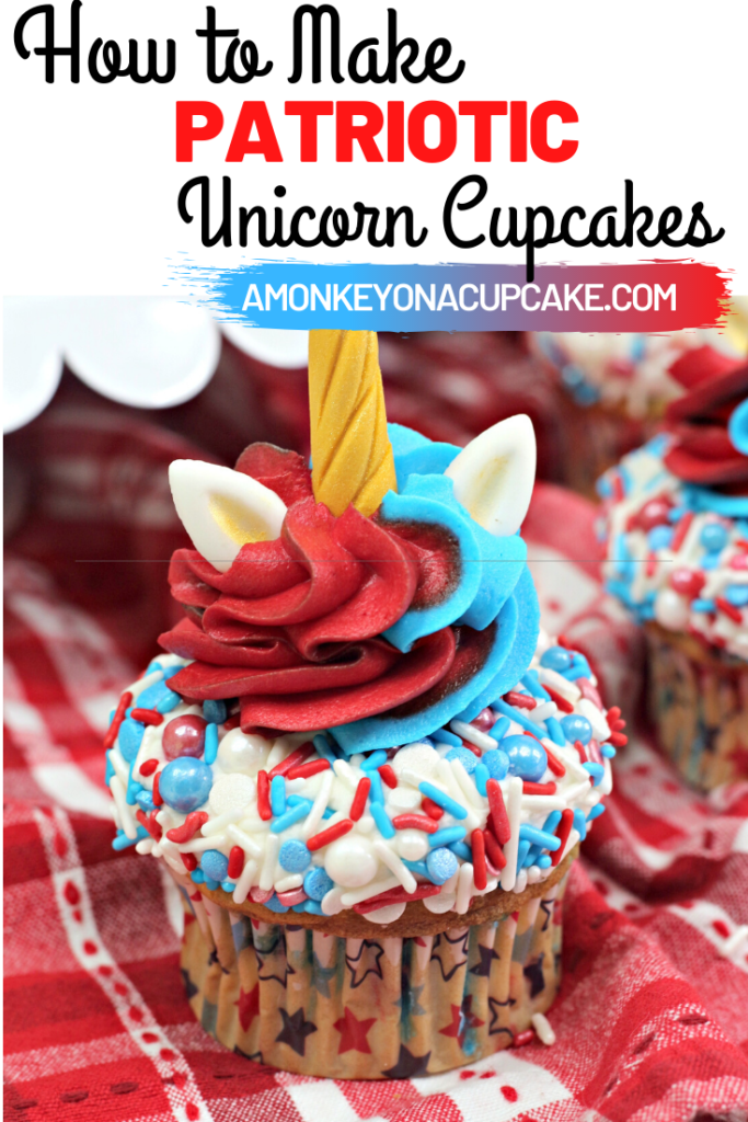 how to make patriotic unicorn cupcakes article cover image
