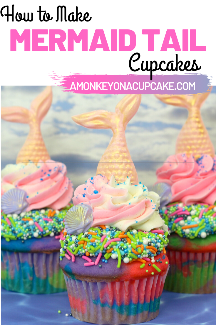 Mermaid Cupcakes for Your Favorite Fin Fan