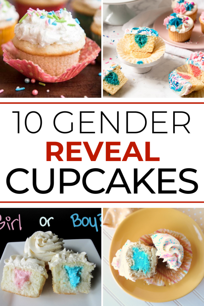 10 Amazing Gender Reveal Cupcakes Recipe Collection article cover collage image