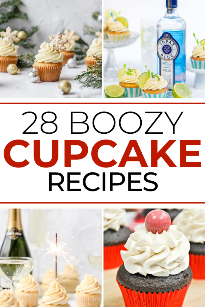 28 of the Best Boozy Margarita Cupcakes and More! article collage cover image