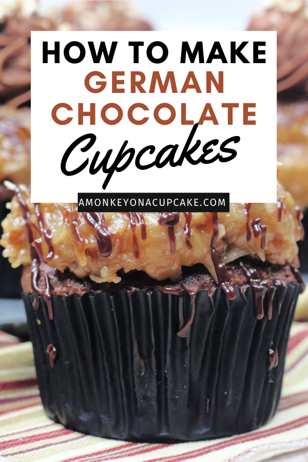 How to make German Chocolate Cupcakes article cover image