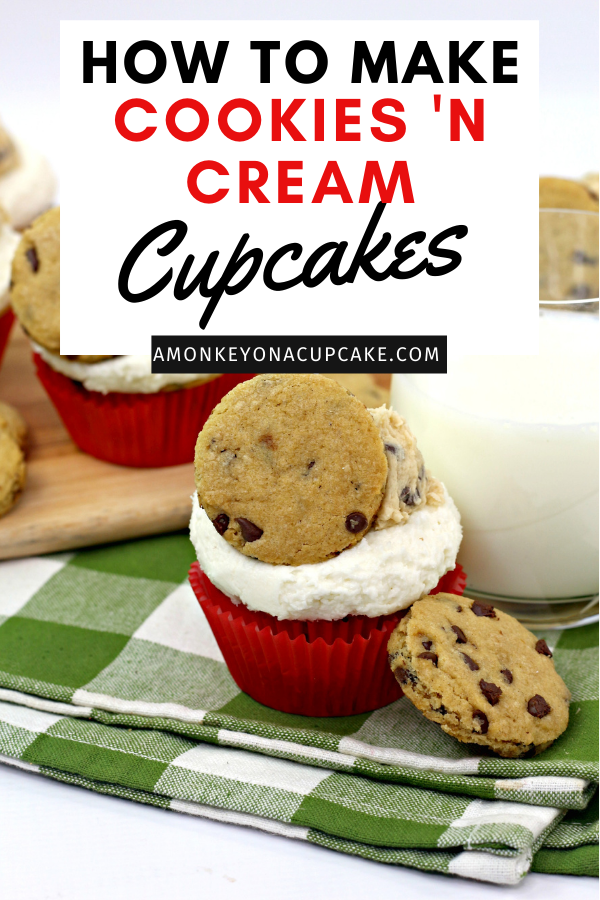 The Best Milk and Cookies Cupcakes Recipe