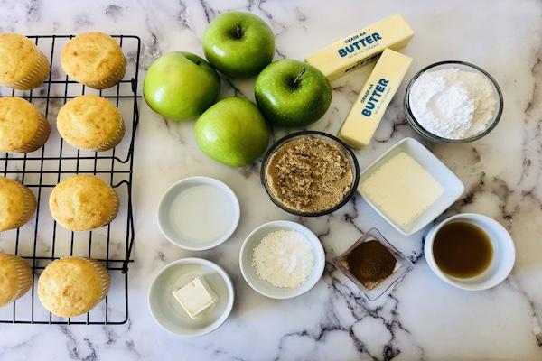 Apple Pie Cupcakes Ingredients