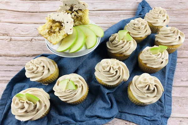 How do you store Best Apple Pie Cupcakes