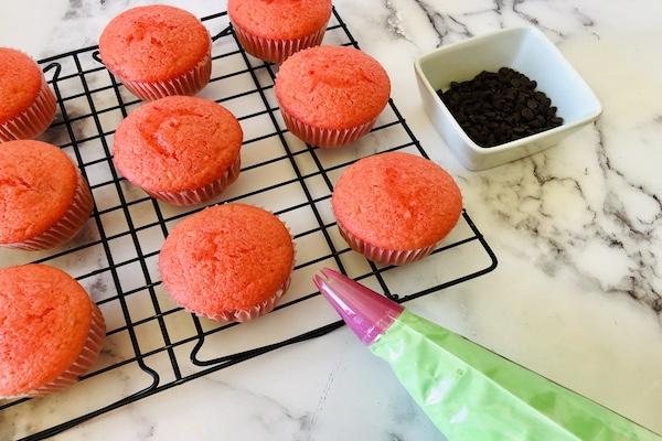 Watermelon cupcakes ingredients