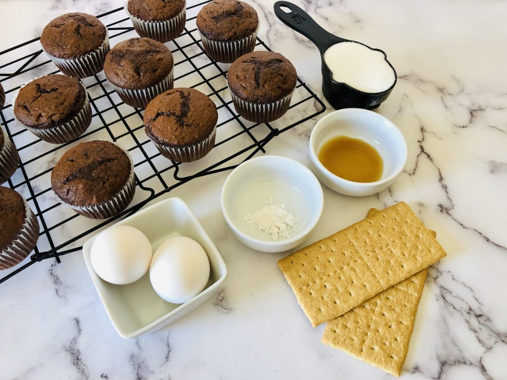 S'mores cupcakes easy