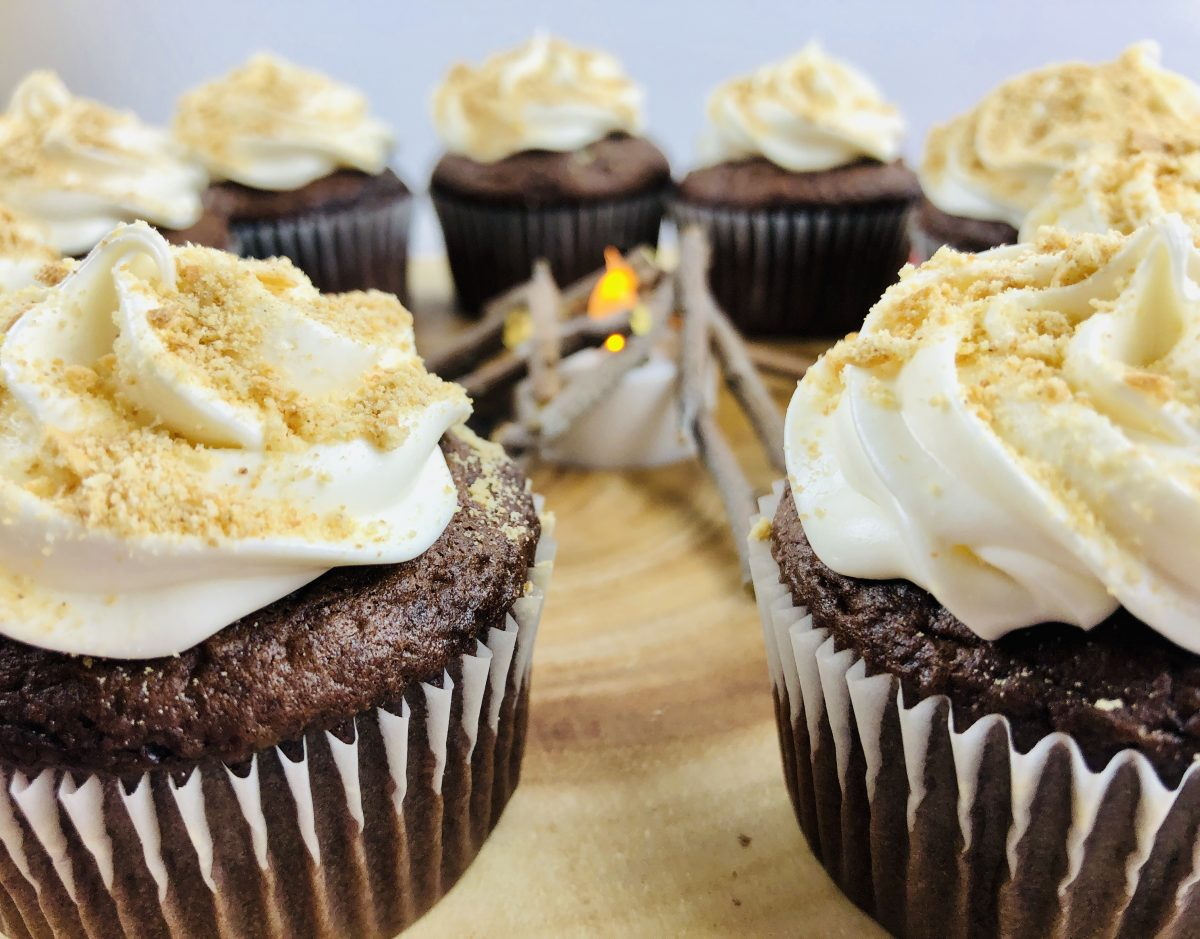 How to Make the Best S'mores Cupcakes