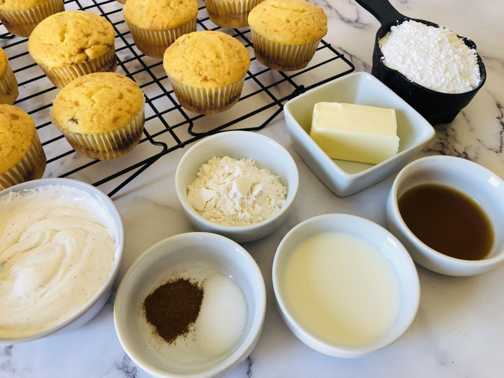 Recipe for Coffee cake cupcakes ingredients