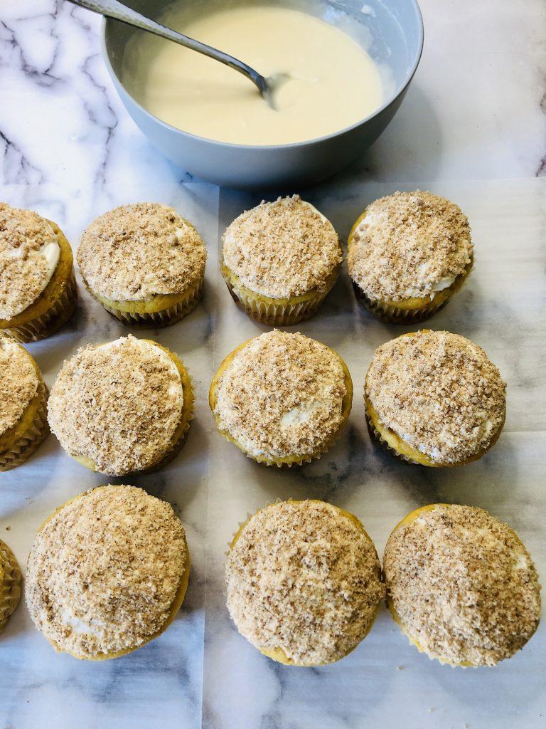 coffeecake cupcakes recipe