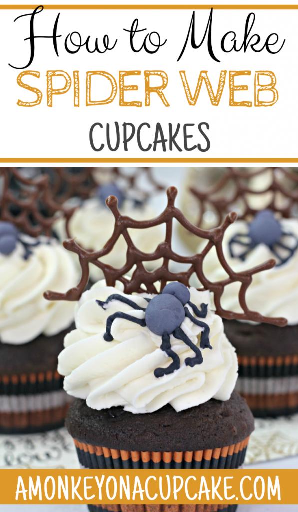 The Most Delicious Spider Web Cupcakes Recipe