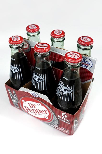 vintage dr pepper bottles