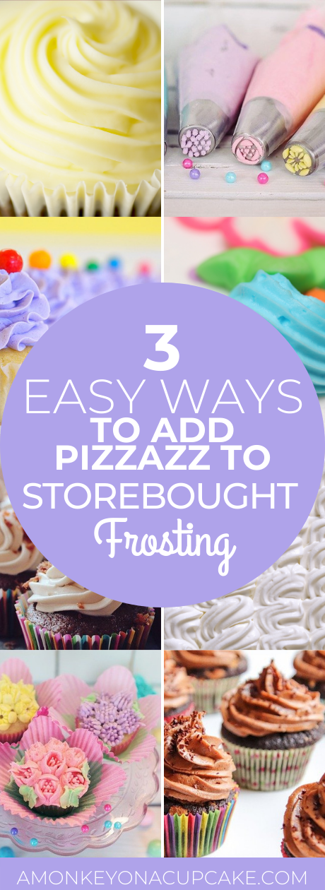 3 Easy Ways to Add Pizzazz to Storebought Frosting