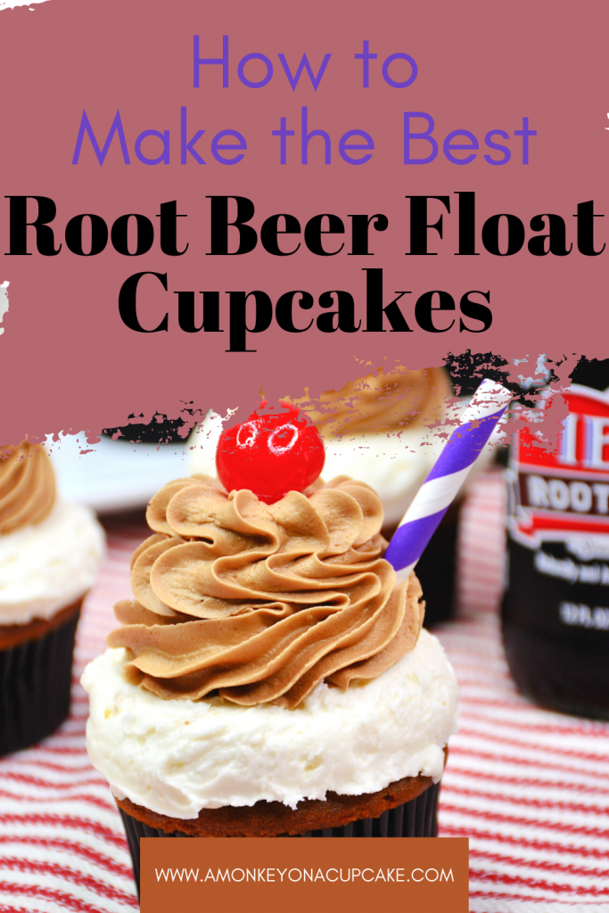 Great Root Beer Float Cupcakes Spell Summer Fun