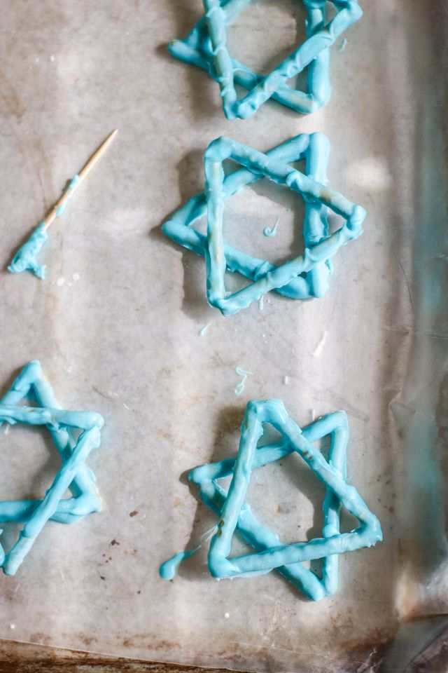Star of David Cupcake Toppers
