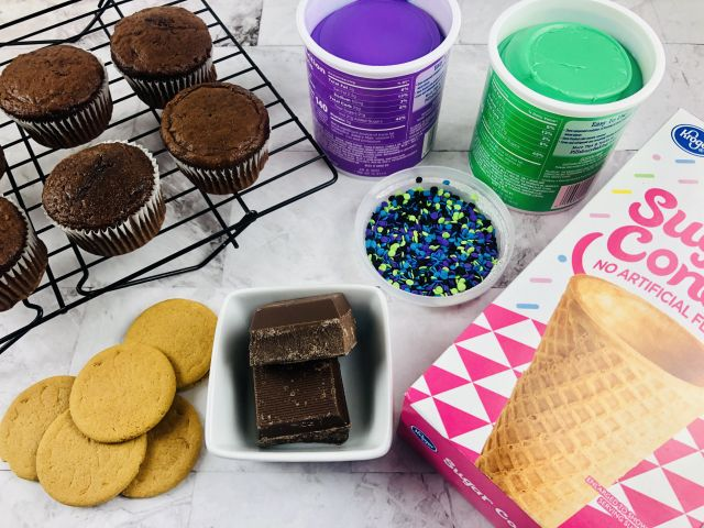 Witch Hat Cupcake Ingredients