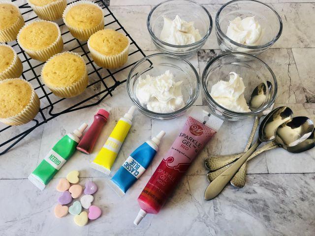 Conversation Heart Cupcakes Ingredients