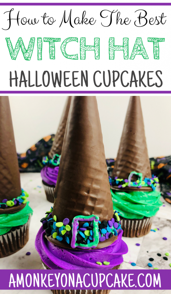 How to Make Witch Hat Cupcakes the Easy Way