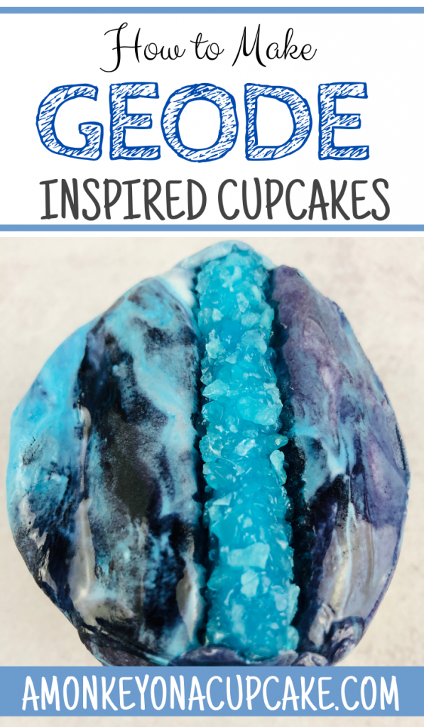 How to Make the Best Geode Cupcakes
